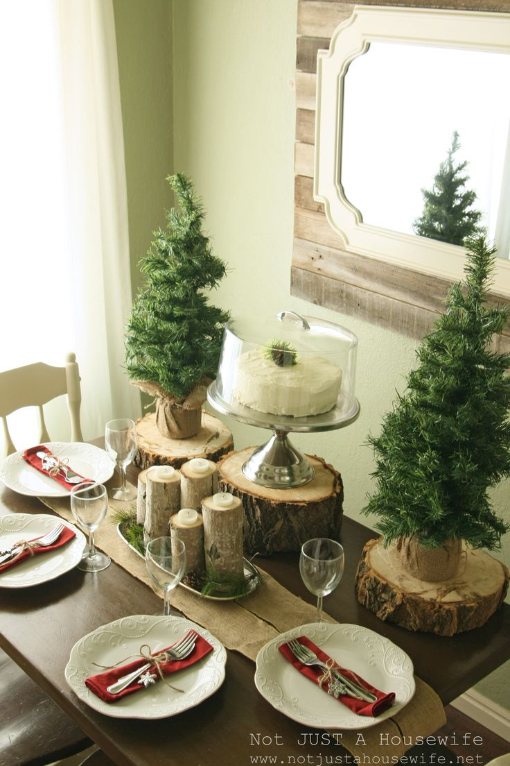 171 Best Christmas Table Settings Images On Pinterest