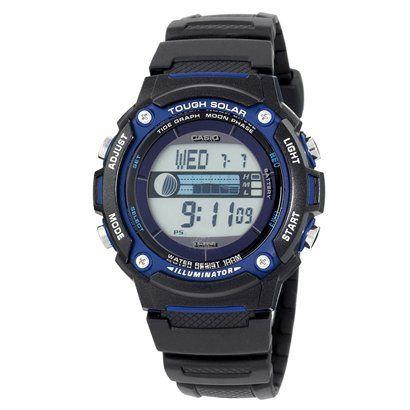 Men's Casio Tough Solar Powered Tide & Moon Graph Watch, $40