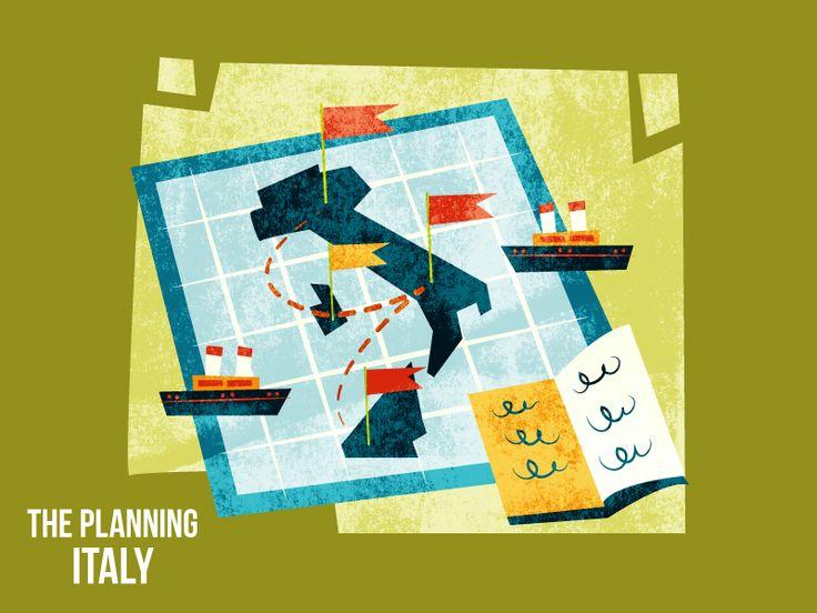 :::Map  of Italy::: by Ilias Sounas