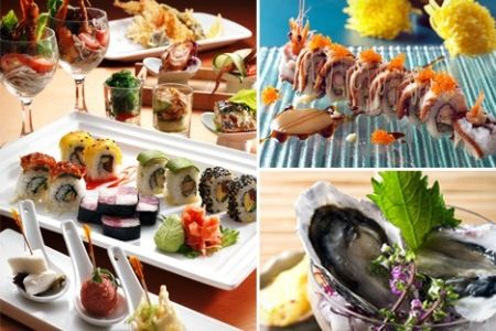 [42% Off] Japanese Buffet Dinner at 5-Star Sunway Putra Hotel (formerly The Legend Hotel KL). For 1 (RM60) / 2 (RM110) People. From RM55 per person. Pork-free http://www.groupon.my/deals/klang-valley-kuala-lumpur/sunway-putra-hotel-japanese-buffet/716147326