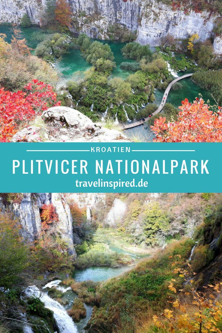 Die Nationalparks Krka und Plitvicer Seen sind wunderschön, besonders im Herbst mit dem bunten Laub. Unseren Reisebericht findest du auf travelinspired.de