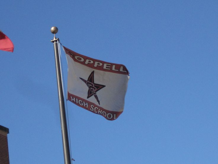 Fly your school pride high with our custom flagpole flags