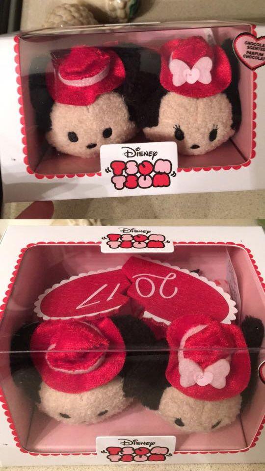 Mickey and Minnie Valentine's 2017 Tsum Tsum box set coming January 17, 2017!