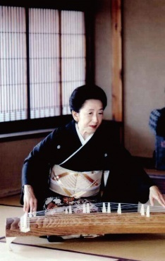 National Living Treasure of Japan as a Koto player, YAMASE Shoin