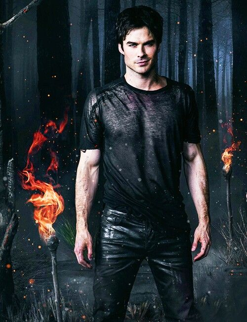 O.O Death of my soul from Damon sexiness on the first episode on October 3rd? Challenge accepted