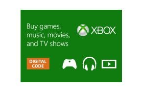 XBOX STORE GIFT CARD   Get games and entertainment for your Xbox One, Xbox 360, or Windows Phone 8.