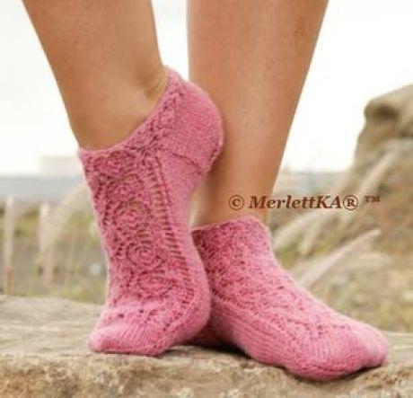 Носочки и носки ☆ вязание спицами