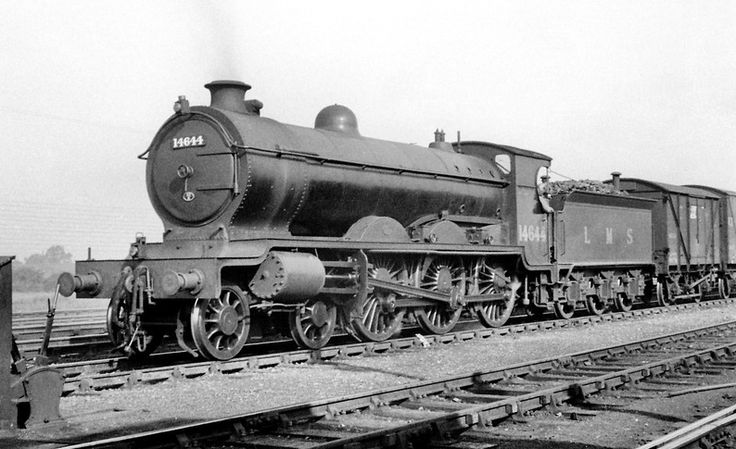 Caledonian Railway Pickersgill designed 'Greyback' 4-6-0 no.14644 was built by the LMSR in1926 at St. Rollox Works and was withdrawn in April 1948 at Motherwell mpd.