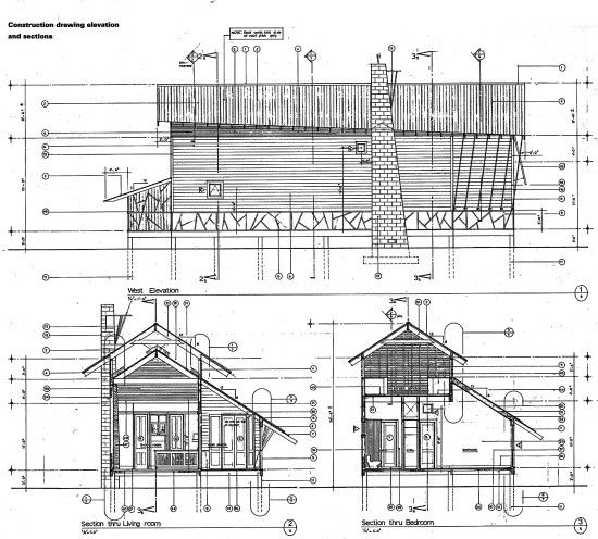 Mockebee Coker Kennedy House Building Section