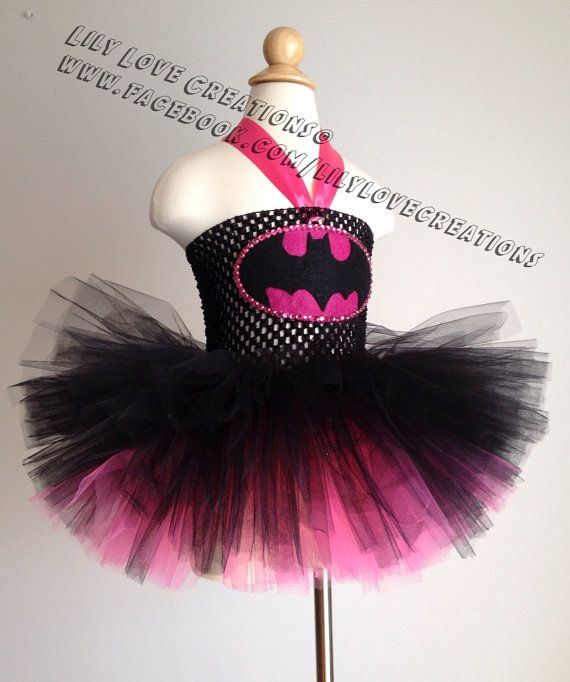 Batman Tutu dress  Superhero costume  Batman by JessicaLilyLove, $40.00