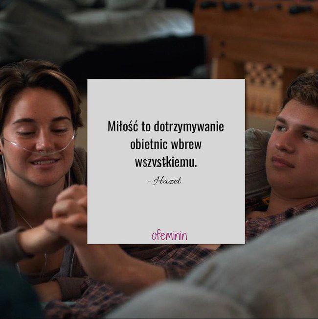 #Gwiazdnaszychwina #faultinourstars #johngreen #cytaty