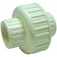 B and K Industries 164-637 1-1/2-Inch PVC Schedule 80 Solvent Unions  Heavy-duty white Schedule 80 PVC construction  EPDM O-ring seal  Can be used with both Schedule 40 or 80 pipe  Solvent ends comply with ASTM D2466  Rated at 150 PSI at 73-Degree F