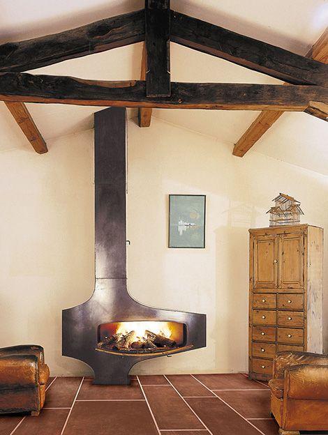 loft fireplace industrial focus 2 Loft Fireplace   industrial style fireplace by Focus
