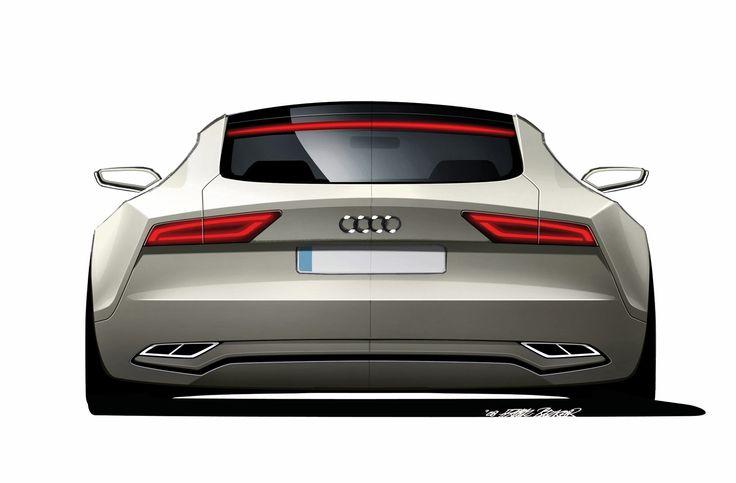 Audi Sportback Concept Design Sketch