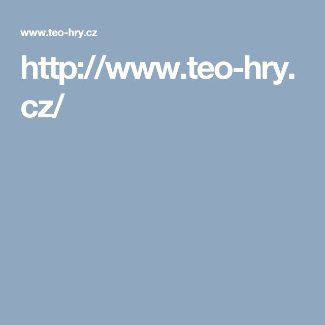 http://www.teo-hry.cz/