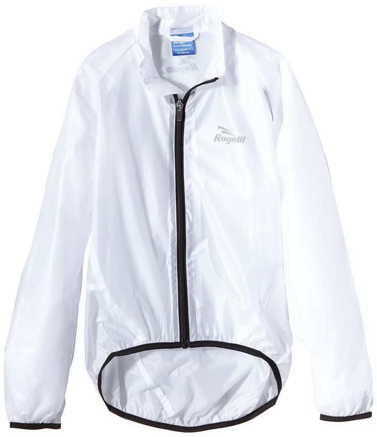 Rogelli niños ciclismo chaqueta impermeable Crotone Transparente transparente Talla:152/164