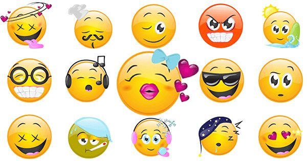 New FB Smileys - Facebook Symbols and Chat Emoticons (With ...