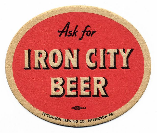 Iron City Beer. Pittsburgh Brewing Co., Pittsburgh, PA