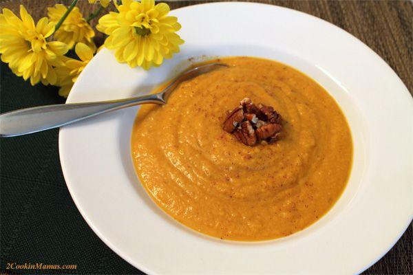 Pumpkin Squash Soup - A Little Taste of Fall