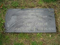 """Celebrity Headstones >Jerry Garcia-Musician, lead guitarist, singer, song writer with the band """"Grateful Dead""""."""