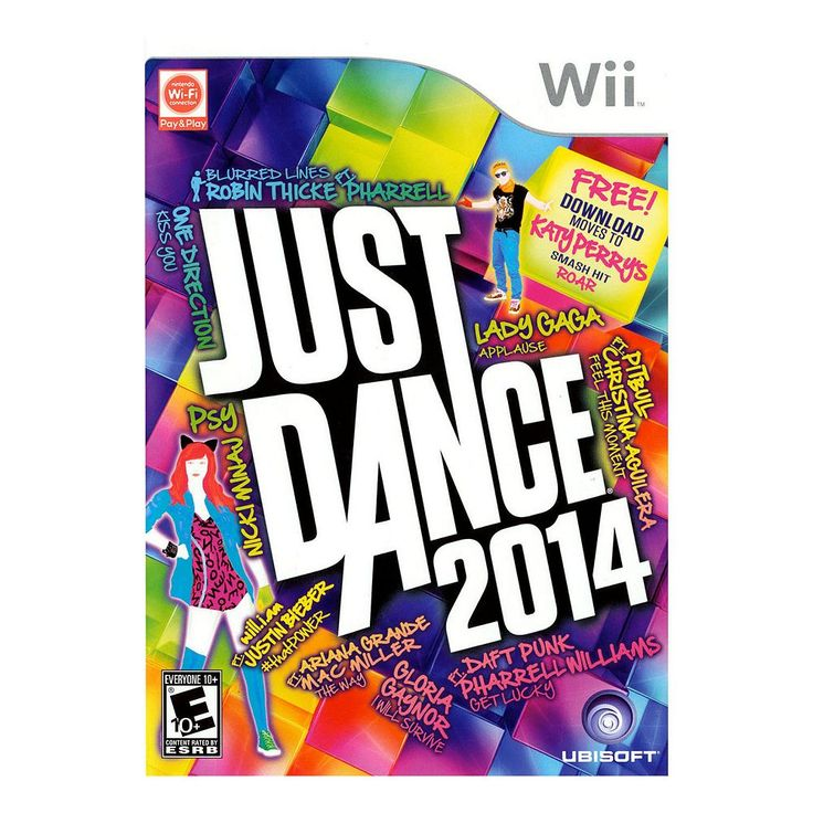 Just Dance 2014 for Wii, Multicolor