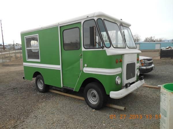 1964 Chevy Grumman Ice cream truck