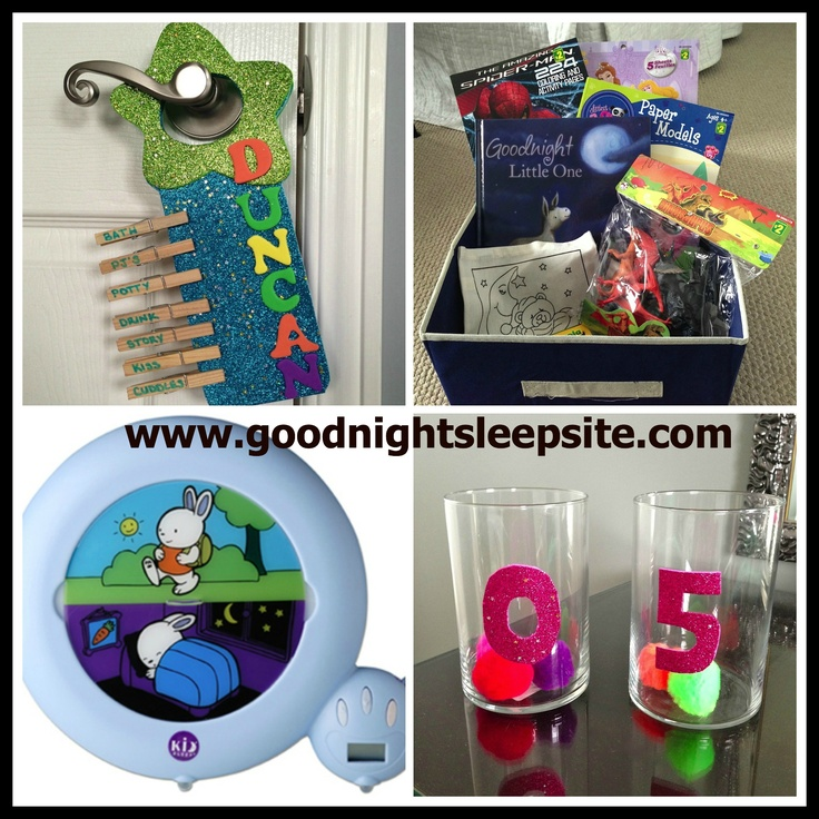 Toddler sleep struggles?  This weekend I got a little crafty (yay!) to show you a couple of Tricks of the (Sleep) Trade that you can do at home. Sometimes a few positive reinforcements are needed to help support you and your little one in a better night sleep.  www.goodnightsleepsite.com