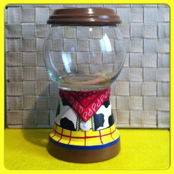 Woody inspirado tarro de caramelos por GCraftyHands en Etsy