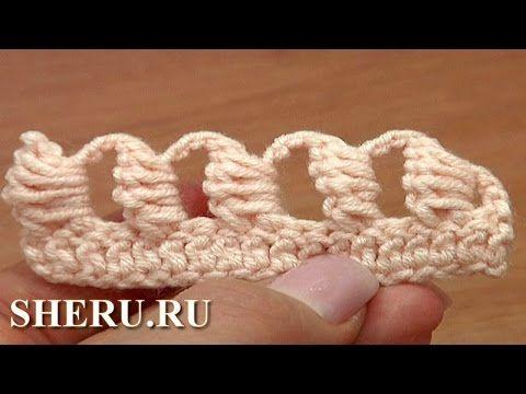 http://sheru.ru На этом уроке мы представляем различные варианты вязания блок-столбика. Шестой вариант блок-столбика, представленный в этой части, вяжется во...