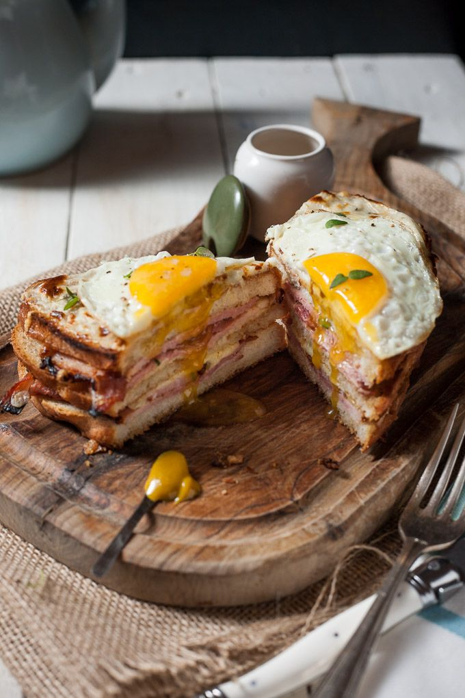 Croque Madame www.wildeorchard.co.uk