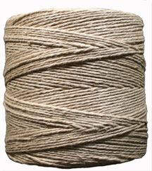 A thick, 12-strand natural hemp yarn for craft, beading or utility use.  This thick hemp yarn consist of 12 individual strands of natural hemp yarn twisted together to form and strong and uniform yarn perfect for macarame, weaving or crochet projects. These 1 lb. spools of hemp yarn contain approximately 1,365 feet of yarn each.
