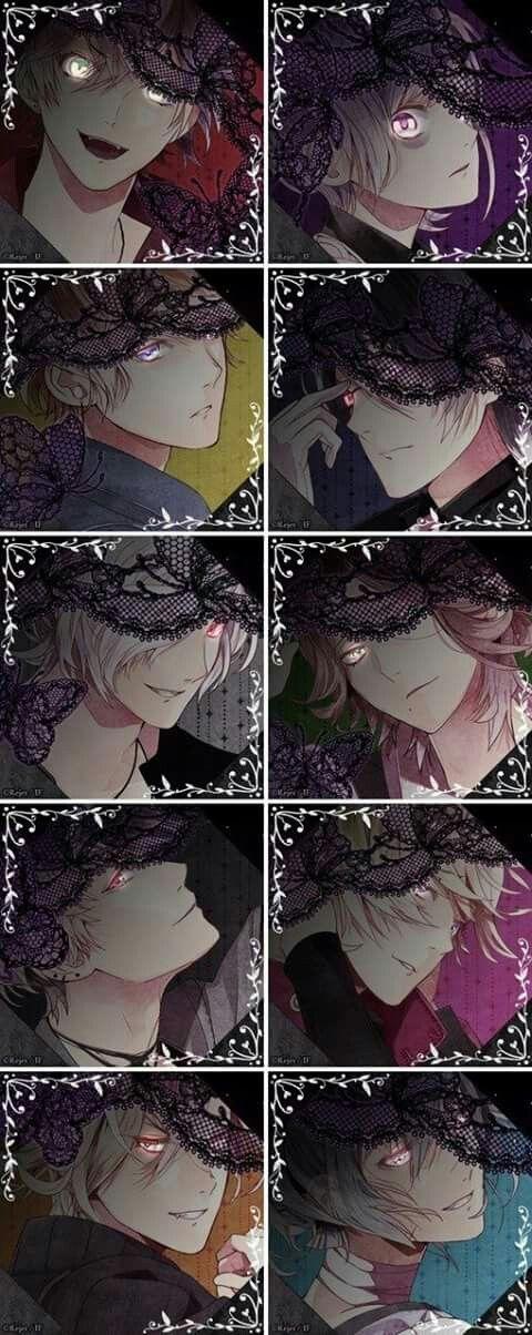 Diabolik lovers eyes