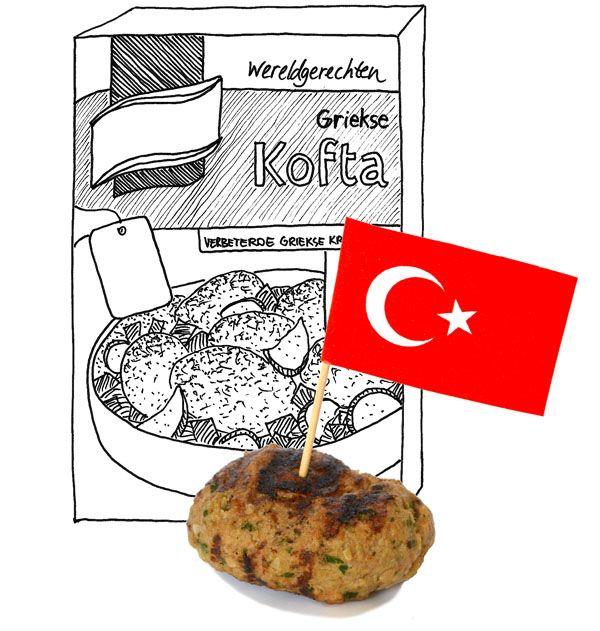 Griekse kofta? Welnee, maak er dan liever Turkse köfte van.