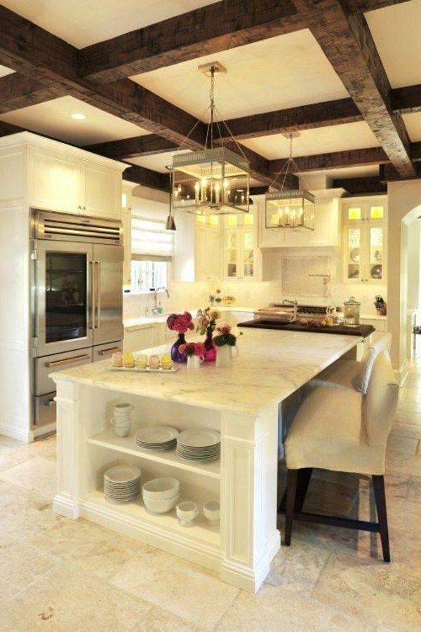 Moderne weiße Küchen \u2013 Kücheneinrichtung in Weiß planen Küche