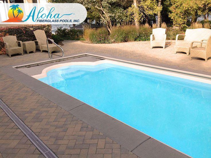 19 Best Roman Pools From Aloha Fiberglass Pools Images On Pinterest Fiberglass Pools