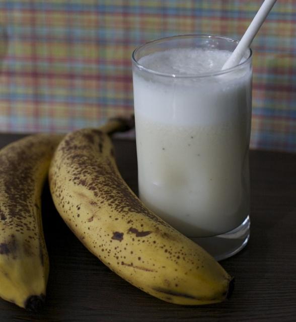 Leche con plátano | En mi cocina hoy