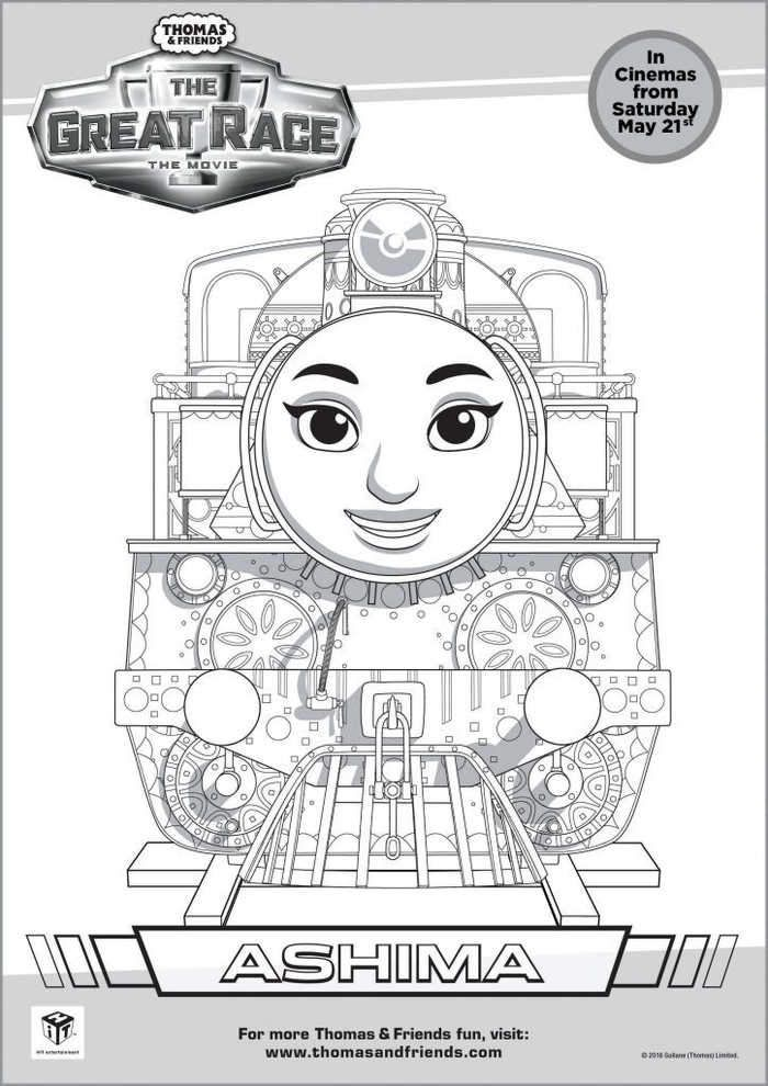 Thomas Coloring Pages Ashima Birthday Coloring Pages Train Coloring Pages Happy Birthday Coloring Pages