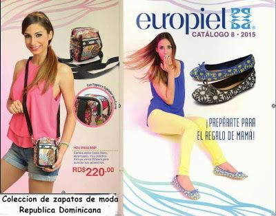 Catalogo de Zapatos Europiel Campaña 8 2015