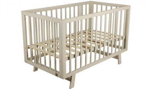 Grey Euro Cot by Bebe Care