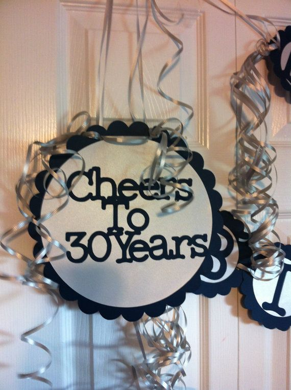 30th 40th 50th 60th 75th Birthdays and Anniversary Giant Personalized Party Signs