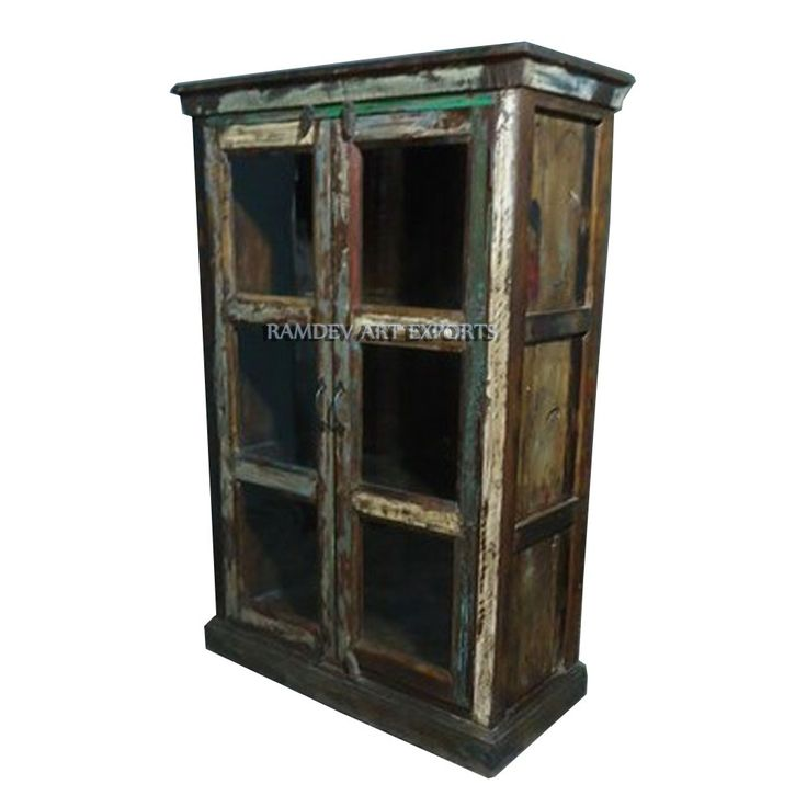 Small Reclaimed Wood Almirah | Small Reclaimed Wood Armoire | Small Reclaimed Wood Almirah | Rustic Small Reclaimed Wood Almirah