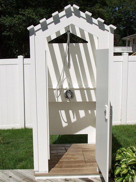 coastal outdoor shower enclosure pictures