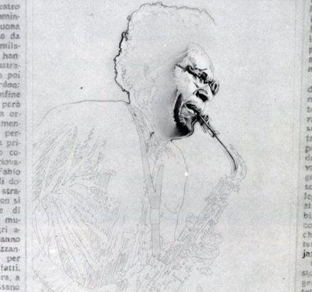 Anthony Braxton - matita su carta