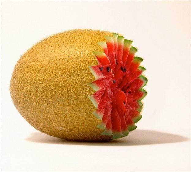 http://zipmanipulation.wordpress.com/  #hybrid #fruit #kiwi #watermelon