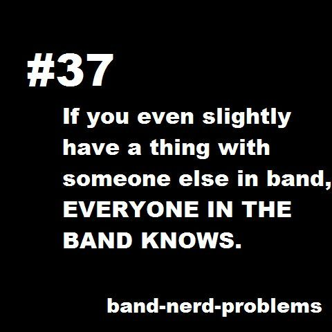 Band Nerd Problems.
