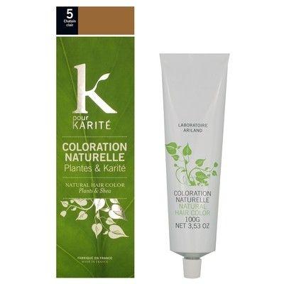 coloration directe semi permanente soin pigmentant k pour karit natural haircare wishlist pinterest html - Coloration K Pour Karit