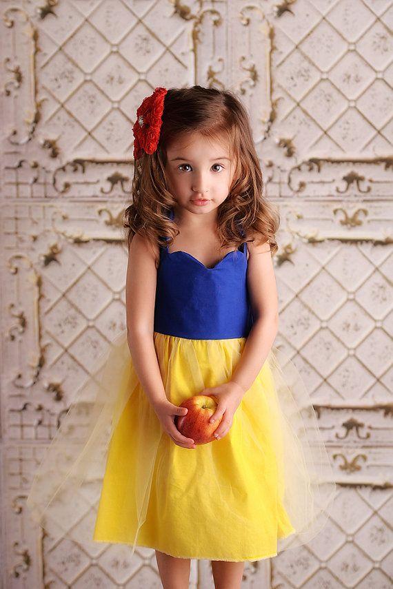 Snow White Dress Princess Halter Tutu