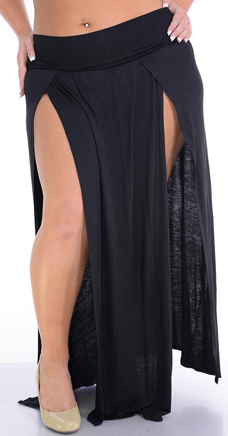 Zahra (Plus/Black)-Great Glam is the web's best sexy plus size online store clothing website for 1X 2X and 3X clothes for women and juniors.