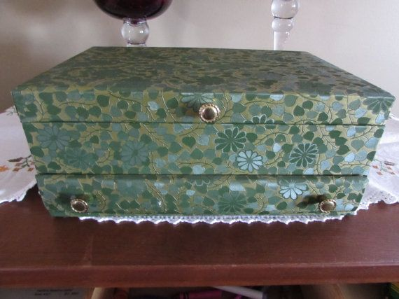 33 best Vintage Jewelry Boxes and Valets images on Pinterest