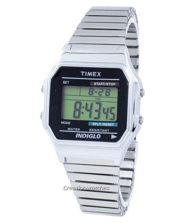 08486e17e #Timex Timeless Classic Indiglo Chronograph Alarm Digital T78587 #Men's  #Watch